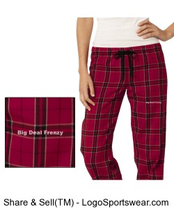 Women's Juniors Flannel Plaid Pant by District Design Zoom